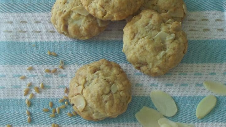 Almond Flaxseed Cookies
