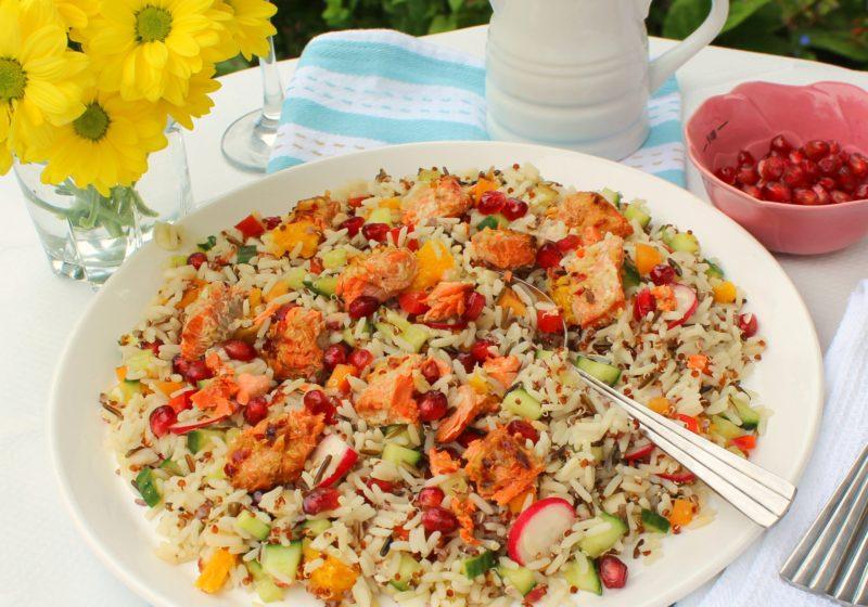Roasted-salmon-jewelled-rice-salad